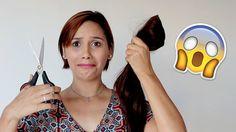 O que acontece quando você corta o cabelo e dá errado? Veja como ficou meu cabelo e o que eu penso sobre o assunto.