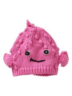Who are the people who design baby hats for babyGap.  I love them.  Blowfish hat | Gap