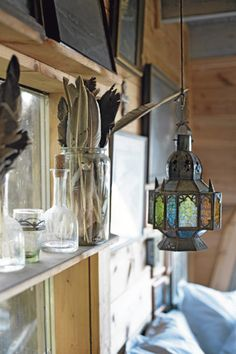 Poppytalk.com - Gotland fisherman's cottage interior (Swedish/Moroccan style)