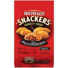 Hot Pockets Snackers Honey BBQ Recipe Chicken Bites, 12ct