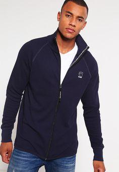 G-Star JIRGI VEST SW L/S Sweat zippé dark saru blue prix Sweat zippé homme Zalando 80.00 €