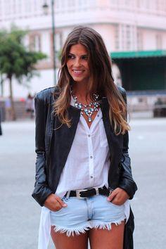 Shorts+Camisa Mullet+Cinto #style #descolado http://www.lojasilva.com.br/home