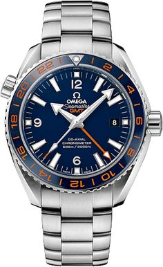 920718794e1 Seamaster Planet Ocean GMT Good Planet Foundation Edition Men s Watch