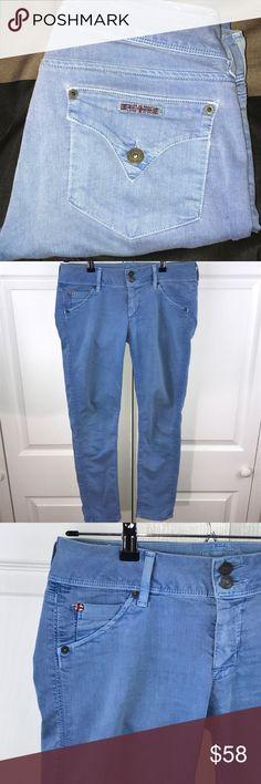 "[Hudson] Collin Skinny Crop Hudson Collin Skinny Crop  Sz 27 34"" Long  26"" Inseam  •JNY19 Hudson Jeans Jeans Skinny"