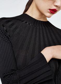 Uterqüe Denmark Product Page -  - Ribbed dress - 1390