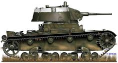 Engines of the Red Army in WW2 - T-26 Model 1938 Light Infantry Tank