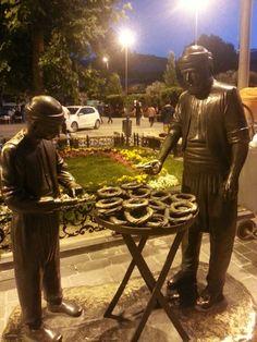 Simitçi heykeli, Yenikapı