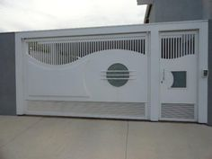 Gate Wall Design, Grill Gate Design, Front Door Design Wood, Steel Gate Design, Front Gate Design, Main Gate Design, House Gate Design, Railing Design, Front Gates