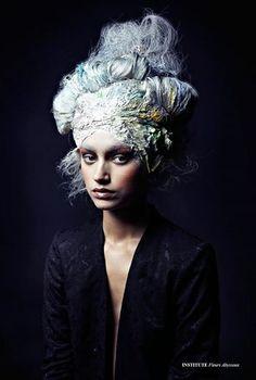 Fleurs Abyssaux - Photographed by Sayaka Bono Hair Rimi Ura Makeup Yui Koretomo Model Alona Remex #rococco return