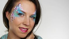 Flower Fairy Face Painting Tutorial