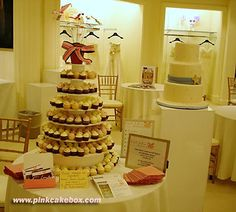 Cupcake Stand for Bridal Show