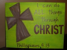 painted crosses on canvas - Google Search