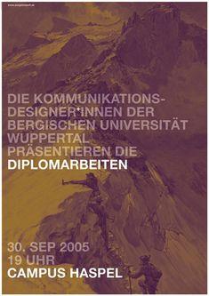 Diplomarbeiten 2005 | 100 Beste Plakate e. V.