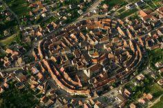 Eguisheim, village à structure concentrique