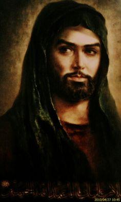 Imam hussain alayh al salat wal salam portrait تشبيه الامام الحسين صلوات الله عليه