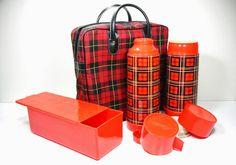 mid century modern picnic baskets - Cerca con Google