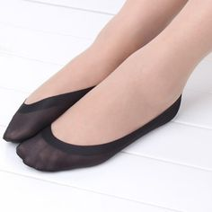 1ペア女性綿滑り止めに見えないライナーいいえショーpeds低カットアイス靴下スリッパ