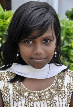 Young Girl in India