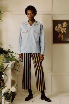 Bode Fall 2018 Menswear Fashion Show Collection
