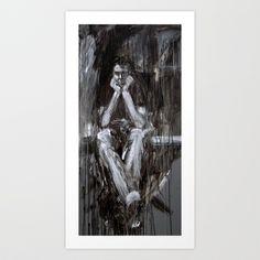 Blakely 2 Art Print by Yousef Balat @ Hoop Snake Graphics LLC - $17.00