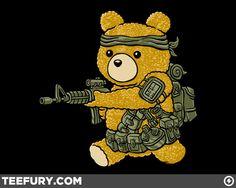 Black Ops Teddy, Lmao :)