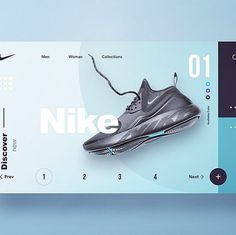 Image may contain: shoes Source by aeschenko layout Creative Web Design, Web Ui Design, Web Design Company, Site Design, Design Websites, Nike Website, Web Design Quotes, Affinity Designer, Web Layout