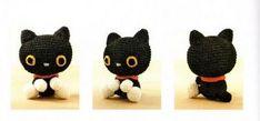Amigurumis: Amigurumi, gatito negro
