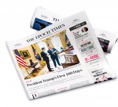 Epoch Times - Subscriptions Epoch Time, Trump One, Times