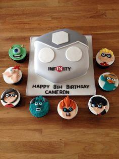 Disney infinity cake