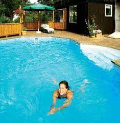eksempel på basseng til ca 100.000. Et basseng i hagen er drømmen for svært mange - både store og små.