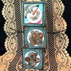 Snowman blocks created for Creative Carte Blanche.  You can find the complete tutorial on my blog here: http://candycreates.blogspot.com/2017/01/baby-its-cold-outside.html