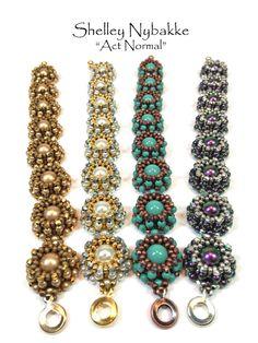 Act Normal Bracelet DIY Kit    Antique Copper/Jade