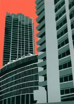 Barbican View by Jennie Ing