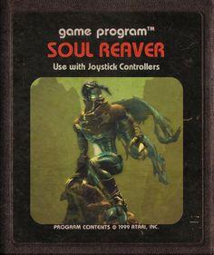 Soul Reaver - #Atari Video Game Cartridges by starroivas #deviantart