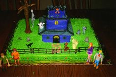 Scooby Doo Haunted House — Children's Birthday Cakes