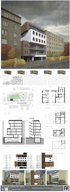 Discover recipes, home ideas, style inspiration and other ideas to try. Student House, Residential Complex, Building Facade, Panel, Architecture, Floor Plans, Architectural Presentation, Layout, How To Plan
