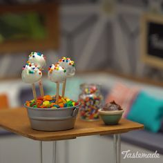 Whether big or small, cake pops are always adorable. Save the recipe on our app! http://link.tastemade.com/HE7m/H1wHe4m2mA