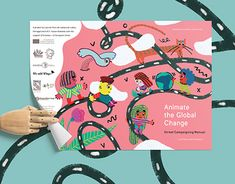Animate the Global Change Working On Myself, New Work, Behance, Animation, Gallery, Illustration, Check, Roof Rack, Illustrations