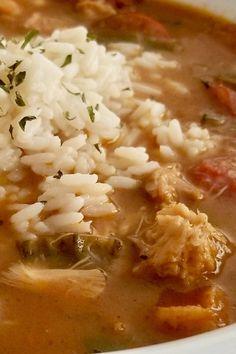 Good New Orleans Creole Gumbo Recipe Good New Orleans Creole Gumbo Creole Gumbo Recipe, Creole Recipes, Cajun Recipes, Seafood Recipes, Cooking Recipes, Haitian Recipes, Louisiana Recipes, Cooking Games, Donut Recipes