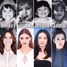 Las actrices cuando eran pequeñas