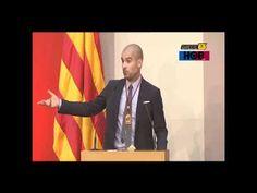 Discurso de Pep Guardiola en la Medalla de Honor del Parlament on http://negrowhite.net/marcas-branding/deporte/pep-guardiola-la-simpleza-hace-la-grandeza
