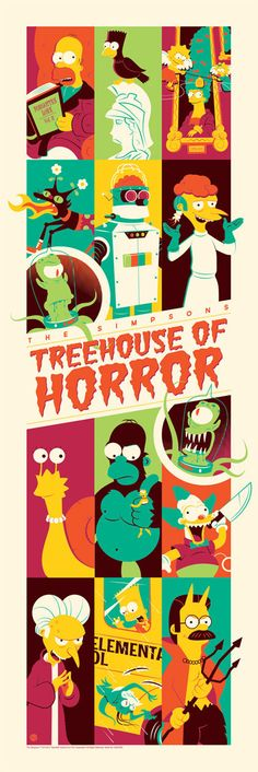 The Simpsons - Treehouse of Horror Poster