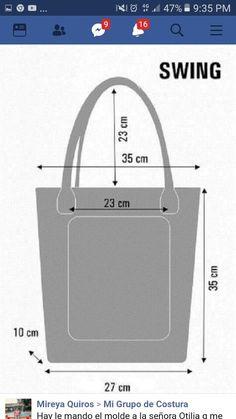 Best 12 Casual Stylish Flower Pattern Tote Handbag Shoulder Bags For Women Shopping Bag – SkillOfKing. Diy Tote Bag, Tote Bags, Tote Handbags, Leather Handbags, Bag Patterns To Sew, Tote Pattern, Simple Wallet, Leather Bag Pattern, Diy Bags Purses