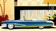 Ретрофутуризм. Retrofuturism - Automobile design by Bob Gurr
