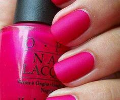 Pink nail polish colors really look great and lovely on nails. This is a color that many of the girls love to have in their nail polish set. Here are the top 10 picked up for you. Get Nails, Love Nails, How To Do Nails, Pretty Nails, Hair And Nails, Matte Nail Polish, Nail Polish Colors, Pink Polish, Nail Polishes