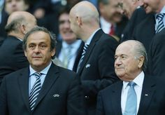 Informazione Contro!: TERREMOTO FIFA Platini a Blatter: 'E ora dimettiti...
