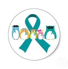 Ovarian Cancer Awareness ~ Beyond perfect for my little family. An owl for everyone :)