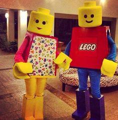 Lego costume - carnaval kostuum idee - voor meer ideeën check…