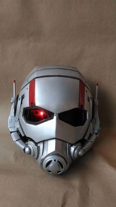 Ant man V1 Helmet Prop Replica 1:1 Full Scale Head Cosplay Costume Accessories Handmade Quality. by MarshmallowsHolic on Etsy https://www.etsy.com/listing/483829401/ant-man-v1-helmet-prop-replica-11-full