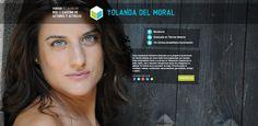 Actriz YOLANDA DEL MORAL
